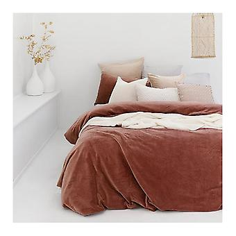 Bambury Emerson Quilt Cover Set Cayenne