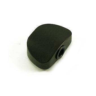 Grover Ebony Full-size Button