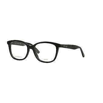 جيمي تشو JC188 نظارات بريق أسود NS8