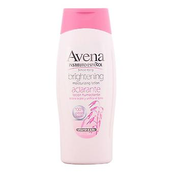 Moisturising Lotion Avena Brightening Instituto Español (500 ml)