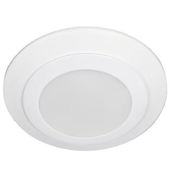 Sea Gull Lighting 14400S-15 Traverse 4 inch LED Flush Mount White