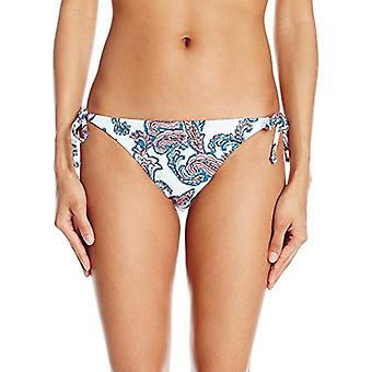 Bikini Lab Junior's Lady in Shreds Paisley Print String Tie Side Bikini Botto...