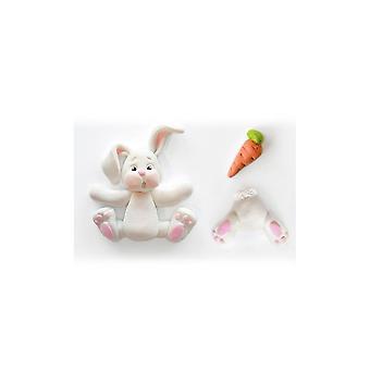 Katy Sue ontwerpt Katy Sue suiker knoppen Mould-konijn