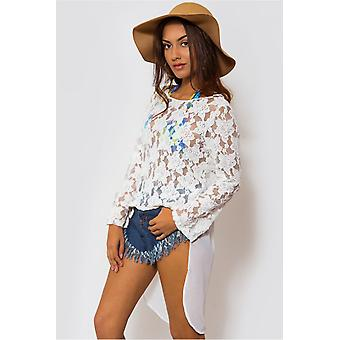 Gypsia Oversize Lace Top