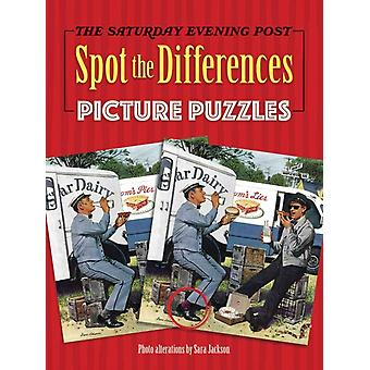 The Saturday Evening Post Spot the Difference Picture Puzzles by Sara Jackson