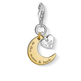 Thomas Sabo I Love You To The Moon & Back Charm