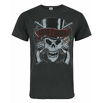 Amplified Guns N Roses Deaths Head Men&s T-Shirt