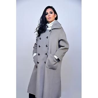 Grey Coat Sam-rone Woman O18