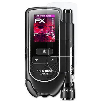 atFoliX Pellicola Vetro compatibile con Accu Chek Mobile 9H Armatura di protezione
