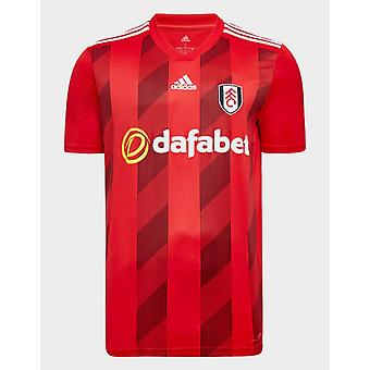 New adidas Men's Fulham FC 2019/20 Away Shirt Red