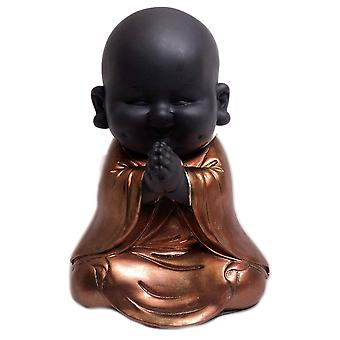 Widdop Bingham Rose Gold Buddha Praying