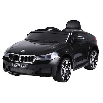 Licensed BMW 6 Series Gran Turismo 12V Electric Ride on Car Black