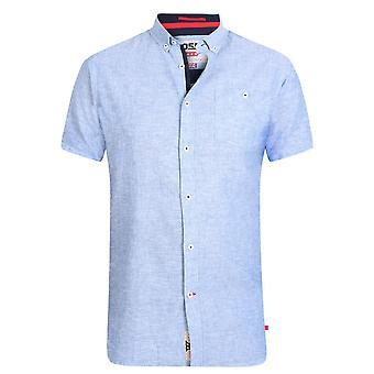 Hertug Herre Brixton-2 Kingsize Linen Blend Shirt