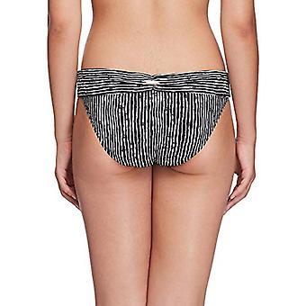 Skye Women's Hipster Bikini Bottom Swimsuit, Wakaya Black Print, Small