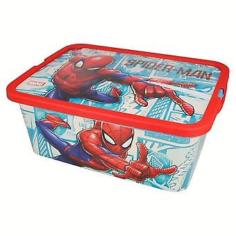 Spiderman 13L Game Holder Container