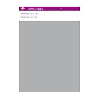 Pergamano Translucent Paper Silver A4 100 gsm 5 Sheets