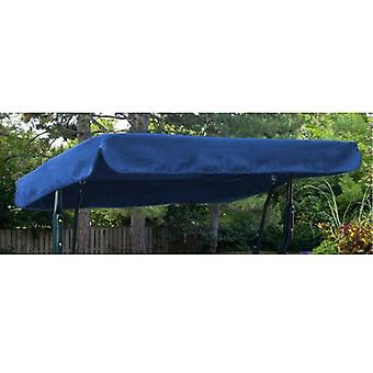 Royal Blue Water Resistant 2 Swing Seater Replacement Canopy for Garden Hammock