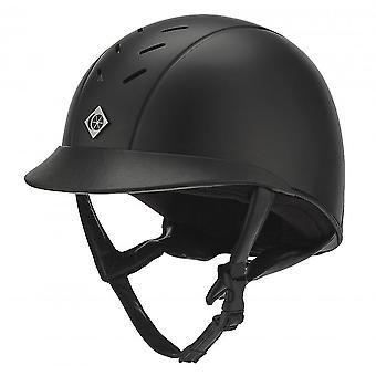 Charles Owen Ayrbrush Riding Helmet - Black