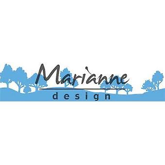 Marianne Design Creatables Snijdrijzen - Horizon Woodland LR0524 140x27 mm