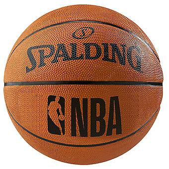 Spalding NBA Rubber Basketball extérieur Fun Team Ball Orange
