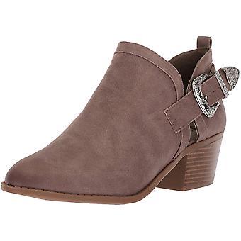 Fergalicious Womens Battle Leather Closed Toe Ankle Fashion Boots
