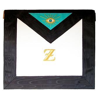 Masonic scottish rite leather masonic apron - 4th degree - aasr