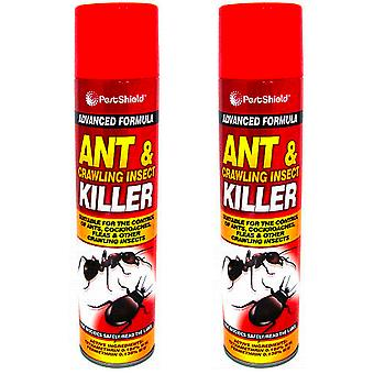 2 x PestShield Ant & Insect Killer 300ml Spray, Pest, 2 x 300ml, 9999247-PEST
