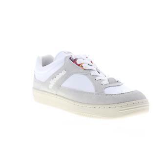 Ellesse Vinitziana Suede AM  Mens White Gray Lifestyle Sneakers Shoes