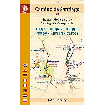 Camino De Santiago Maps - St. Jean Pied De Port - Santiago De Composte