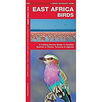 East Africa Birds: A Folding Pocket Guide to Familiar Species in Kenya, Tanzania & Uganda (Pocket Naturalist Guide Series)