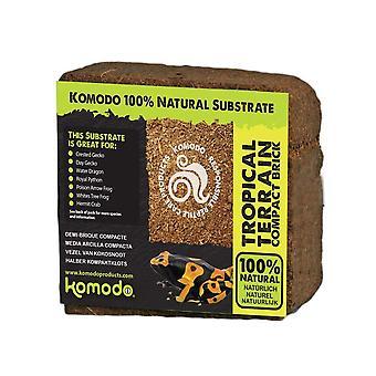 Komodo habitat tropisch terrein compacte baksteen