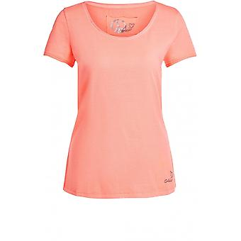 Oui Neon Rosa Jersey T-Shirt