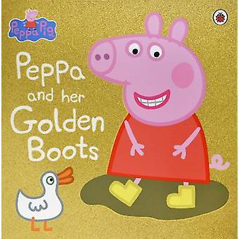 Pipsa possu-Peppa ja hänen kultainen saappaat-9780241245194 kirja