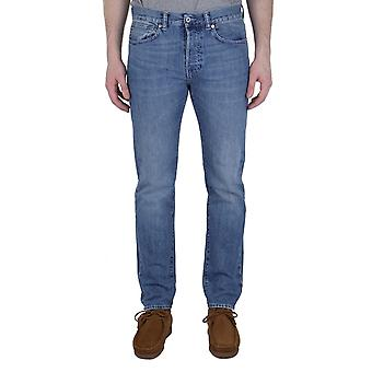 Edwin ED-80 Kingston Blue Denim Rauha Wash Slim Tapered Jeans