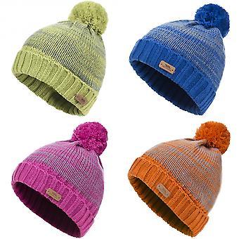 Trespass Childrens/Kids Florrick Knitted Winter Pom Pom Hat
