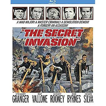 Secret Invasion (1964) [BLU-RAY] USA import