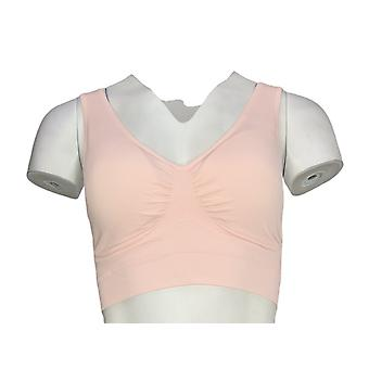 NorthStyle Bra Wire Free with Wide Straps Light Pink