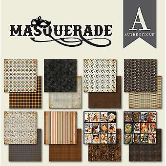 Authentique Masquerade 6x6 Inch Paper Pad