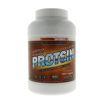 100% Proteins (Chocolate Flavor) 1,8 kg of powder (Chocolate)