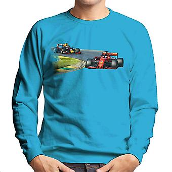 Motorsport kuvia Sebastian Vettel Max Verstappen Australian GP miesten ' s paita