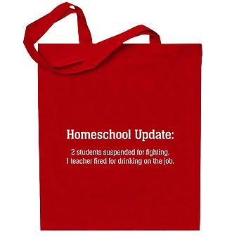 Homeschool Päivitys Totebag