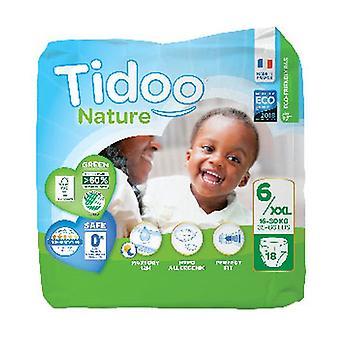 Diapers size XL T6 (16/30 kg) 18 units