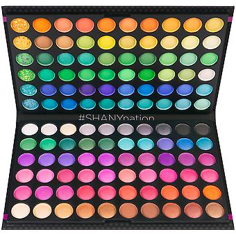 SHANY 120 färger ögonskugga palett, fet och ljus samling, levande färger