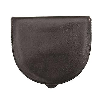 Primehide Premium Mens Leather Coin Tray Wallet Popper Fixed Coin Wallet 4826