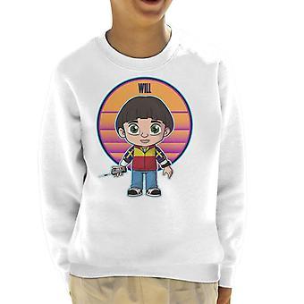 Cute will Stranger dingen Kid ' s Sweatshirt
