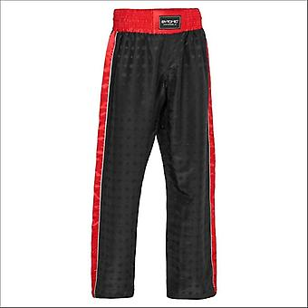 Bytomic performer v2 adult kickboxing pants black/red