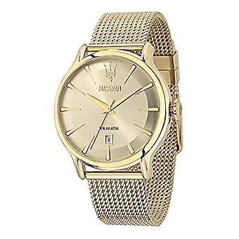 Maserati R8853118003 Epoca Gold Dial Men's Watch