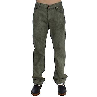 Exte Green Cotton Regular Fit Jeans SIG30514-1