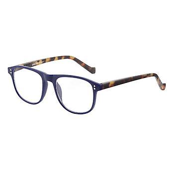 Lesebrille Unisex Le-0196D Pablo bleu/brun Stärke +2,00