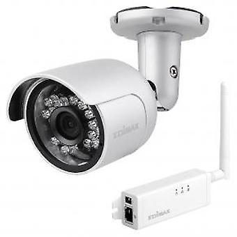 Edimax IC-9110W hd wi-fi mini outdoor netwerkcamera [139o groothoekweergave dag en nacht]